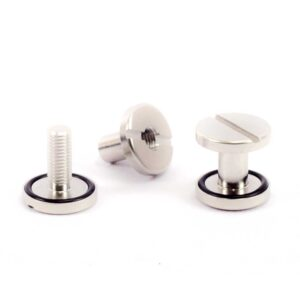 backplate screws boots stainless steel