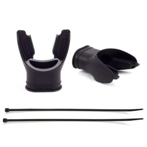 Mouthpiece Silicone Black Long