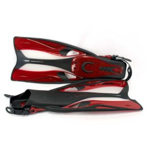 snorkel fin nemo-red