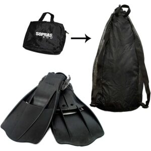 rubber fins -III-rubber-strap-bag