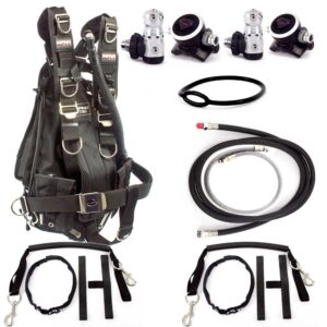 technical dive sidemount package